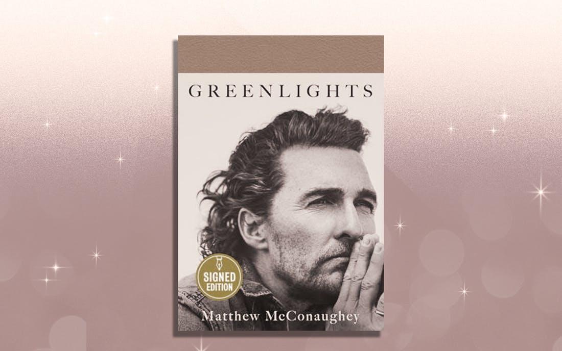 Matthew McConaughey Libro Foto Cortesía