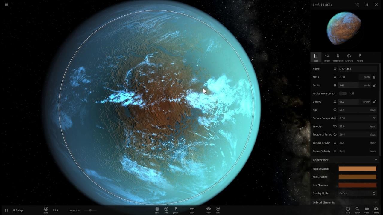 Planeta LHS 1140 Por CAB- Foto Cortesía