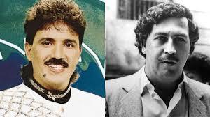 Rafael Orozco y Pablo Escobar- Forto Cortesia