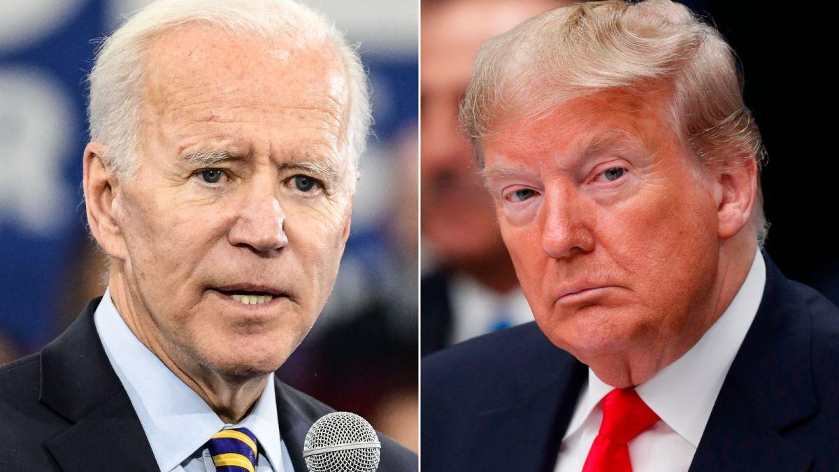 Trump y Biden- Foto Cortesía