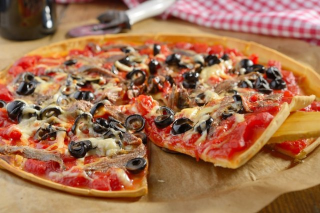 pizza - cortesía
