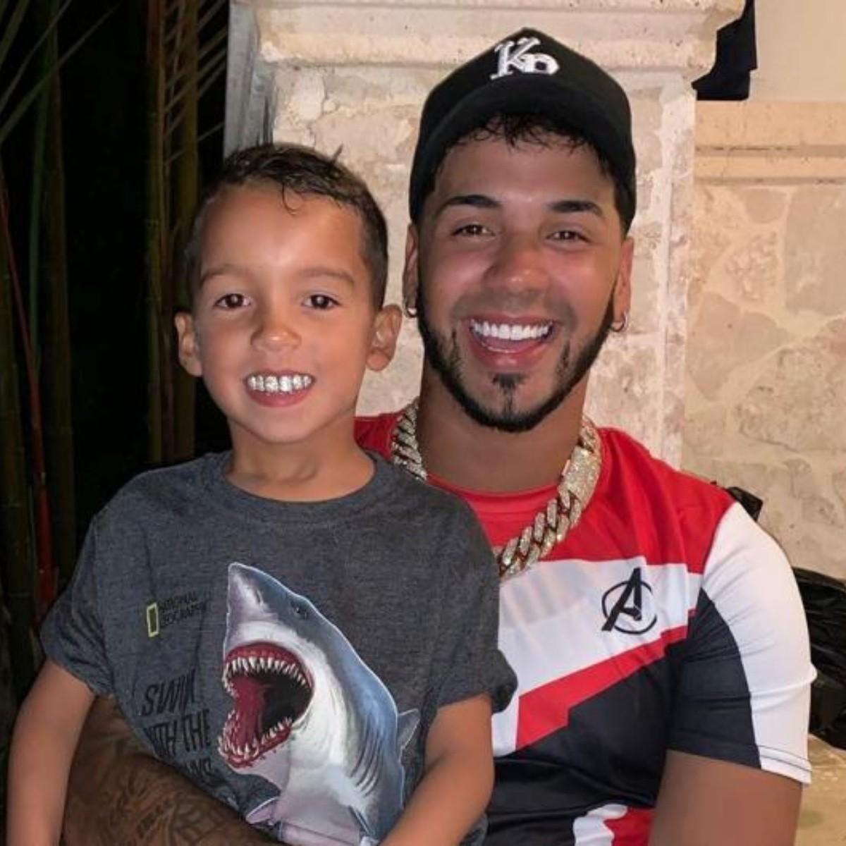Anuel AA y su hijo- Foto Cortesía