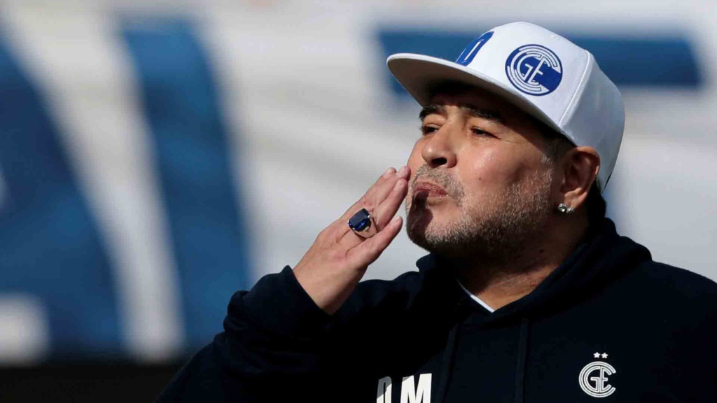 Diego Armando Maradona- Foto Cortesía