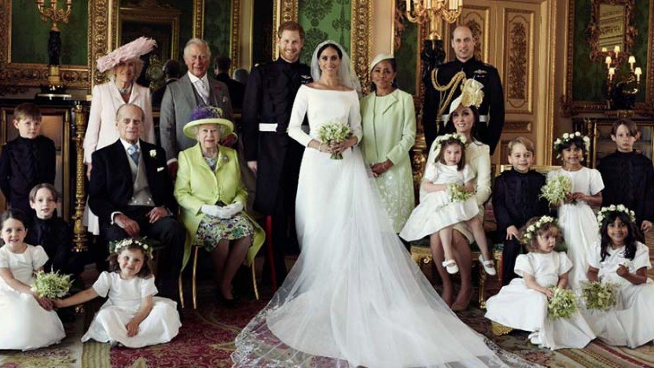 Familia real- Foto Cortesía