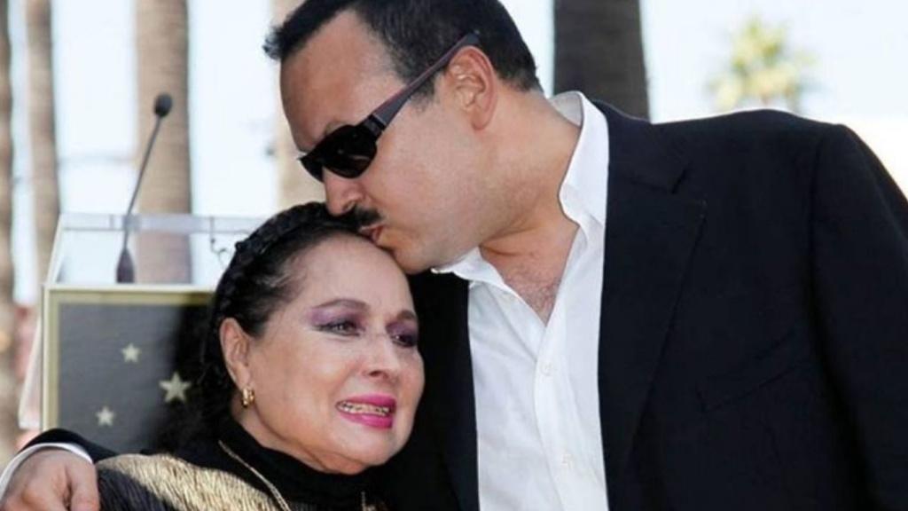 Flor Silvestre, madre de Pepe Aguilar - Cortesía