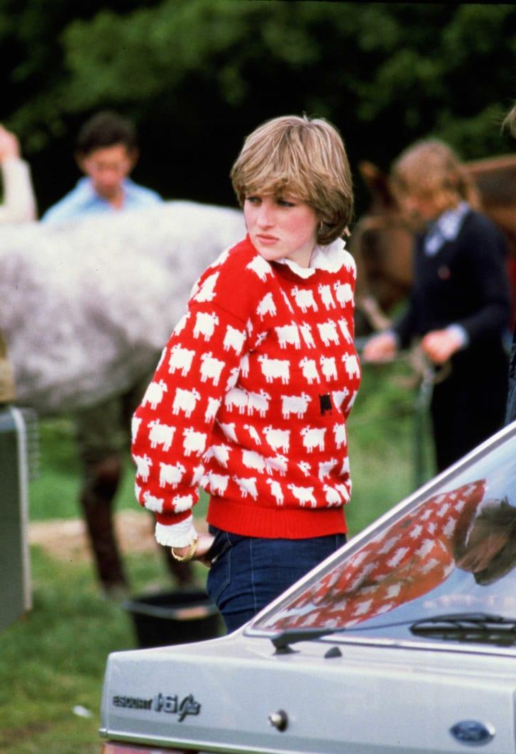 La princesa Diana y su famoso suéter- Foto Cortesía
