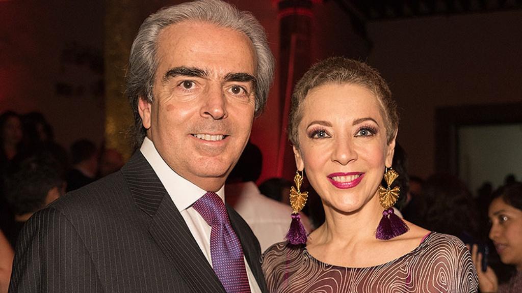 Lorenzo Lazo y Edith González - Cortesía