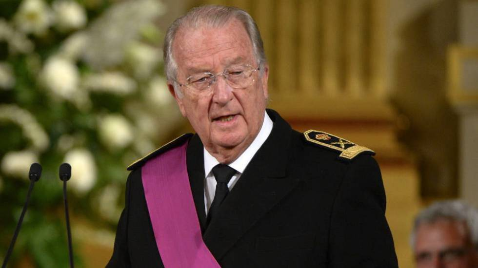El rey emérito Alberto II de Bélgica - Cortesía