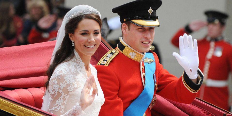 Kate Middleton y su esposo, el príncipe William - Cortesía