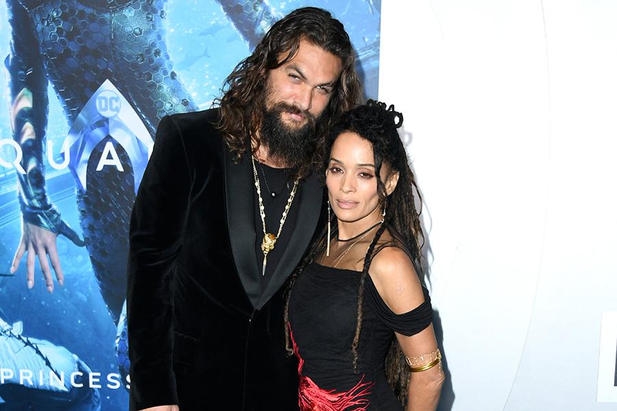 Jason Momoa y Lisa Bonet - Cortesía