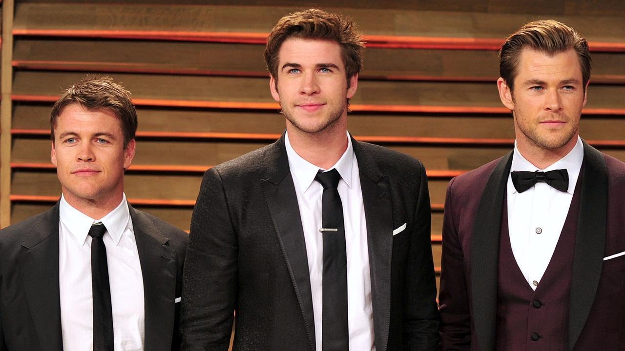 Luke, Liam y Chris Hemsworth - Cortesía