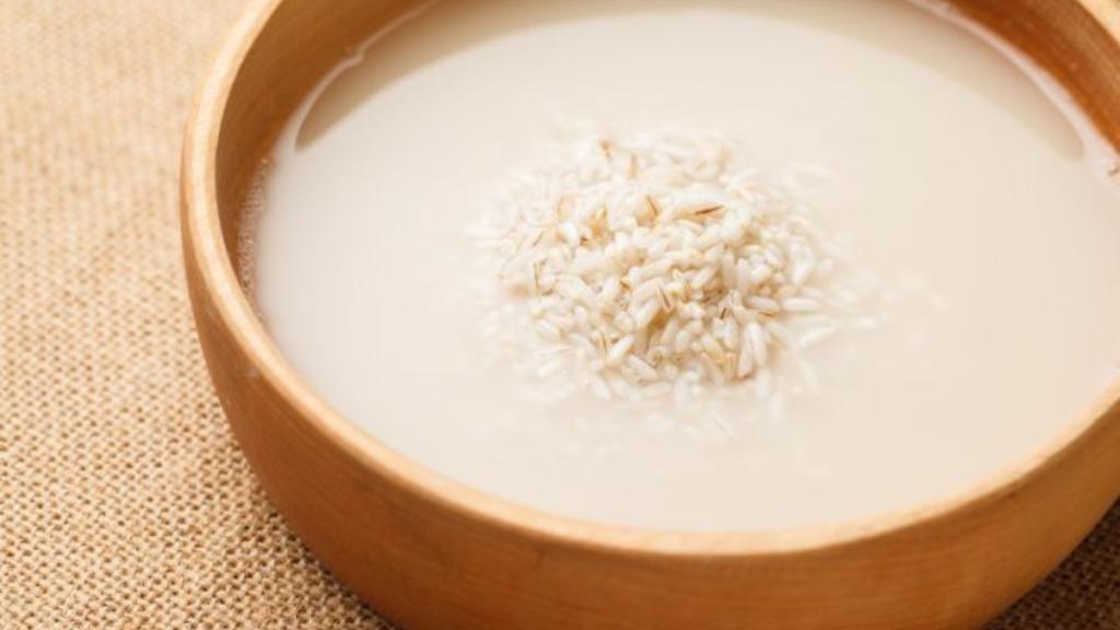 Agua de arroz - Cortesía