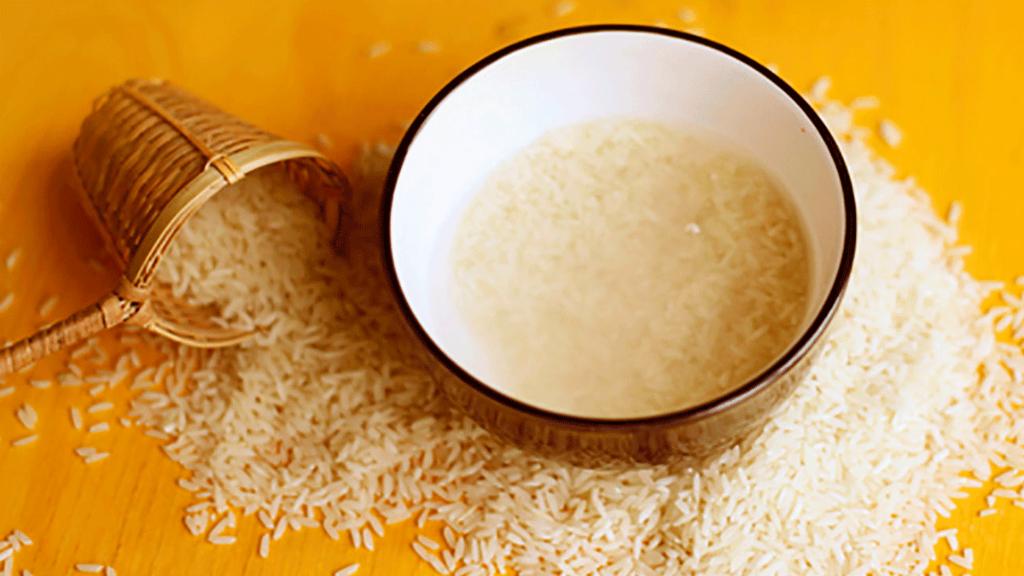 Baños de agua de arroz - Cortesía