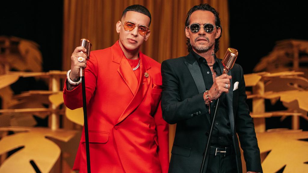 Marc Anthony y Daddy Yankee - Cortesía