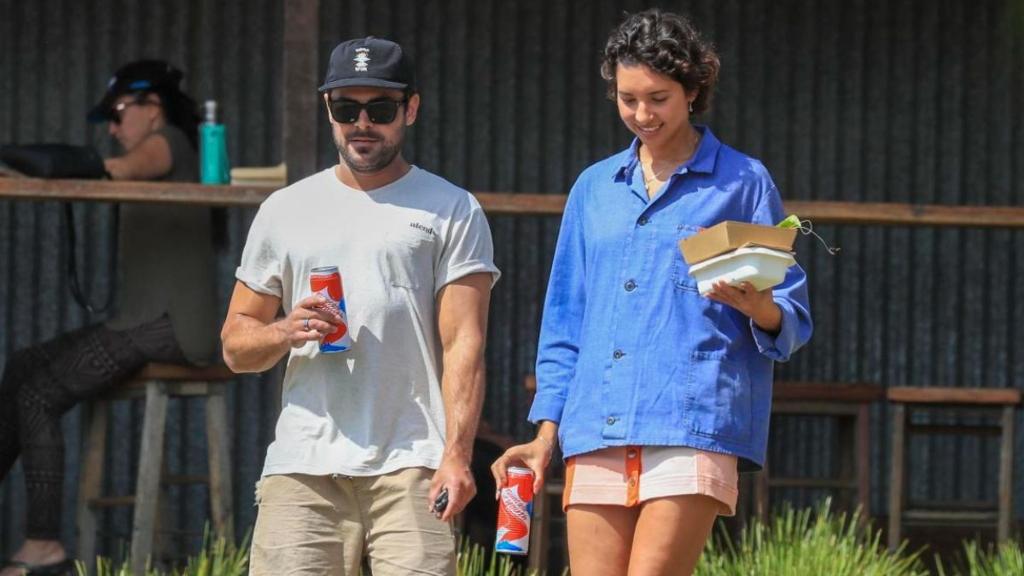 Zac Efron y su ex novia