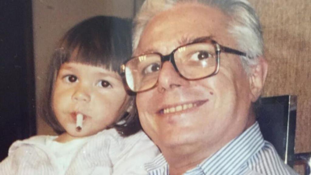 Enrique Guzmán y su nieta Frida Sofía
