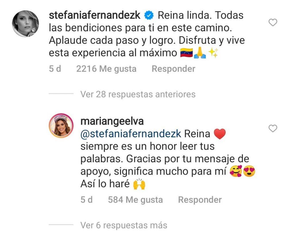 Stefanía Fernández- Cortesía