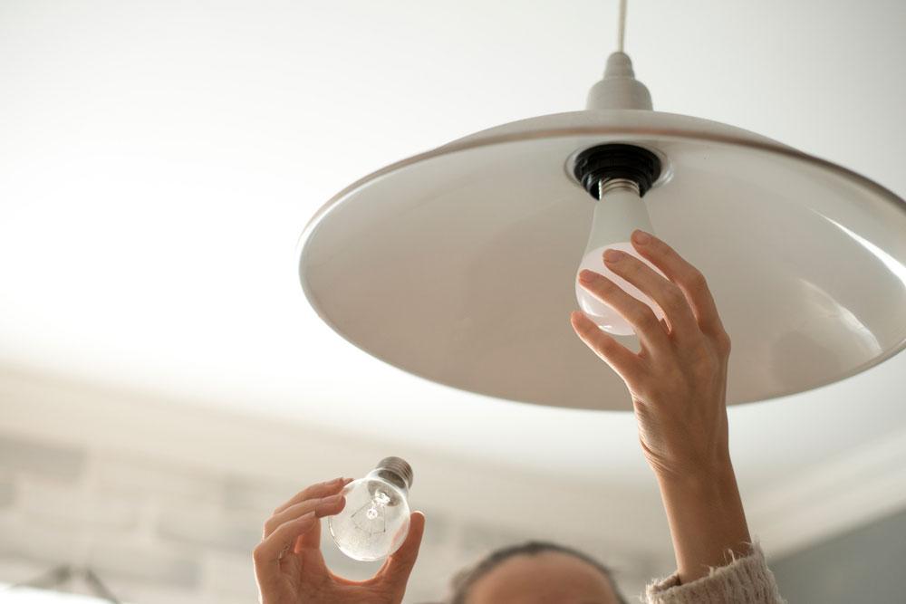 Iluminación LED- Cortesía