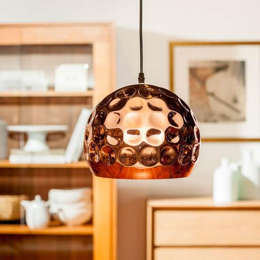 Lámparas de cobre- Cortesía