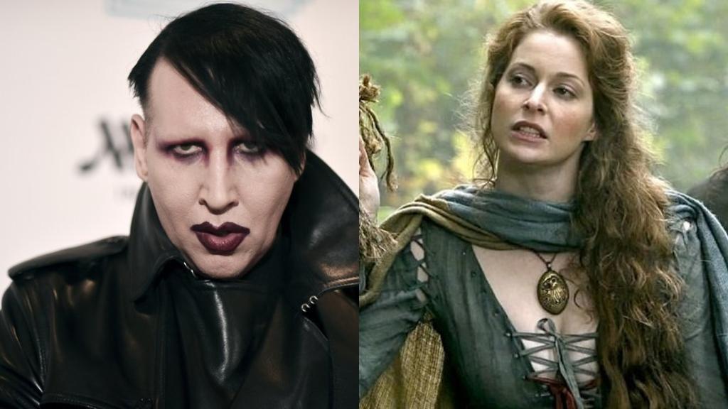 Marilyn Manson y Esme Bianco