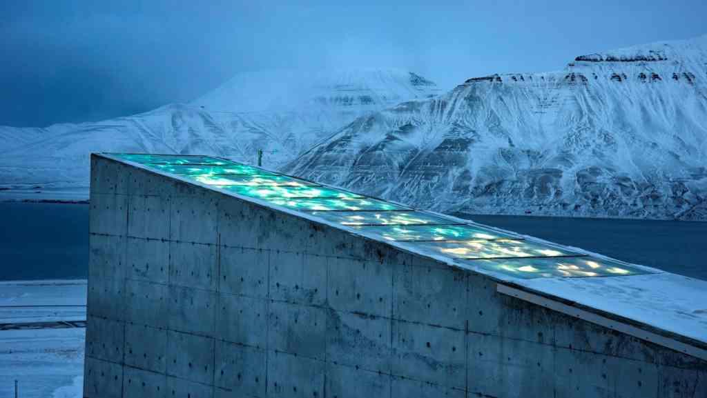 Bóveda de Svalbard-Cortesía