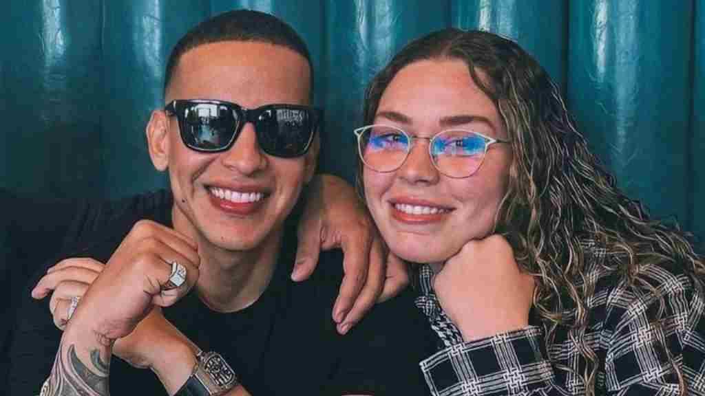 Daddy Yankee y su hija