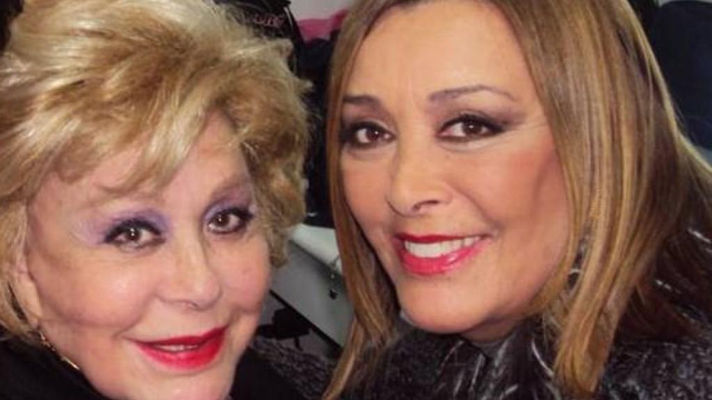Sylvia Pasquel y Silvia Pinal - Cortesía