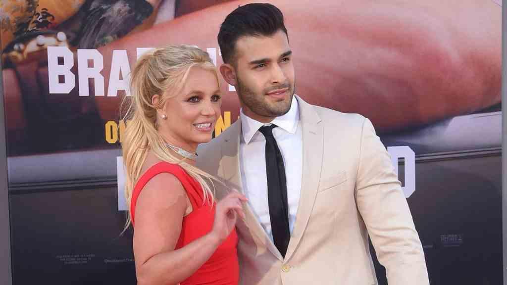 Britney Spears y Sam Asghari