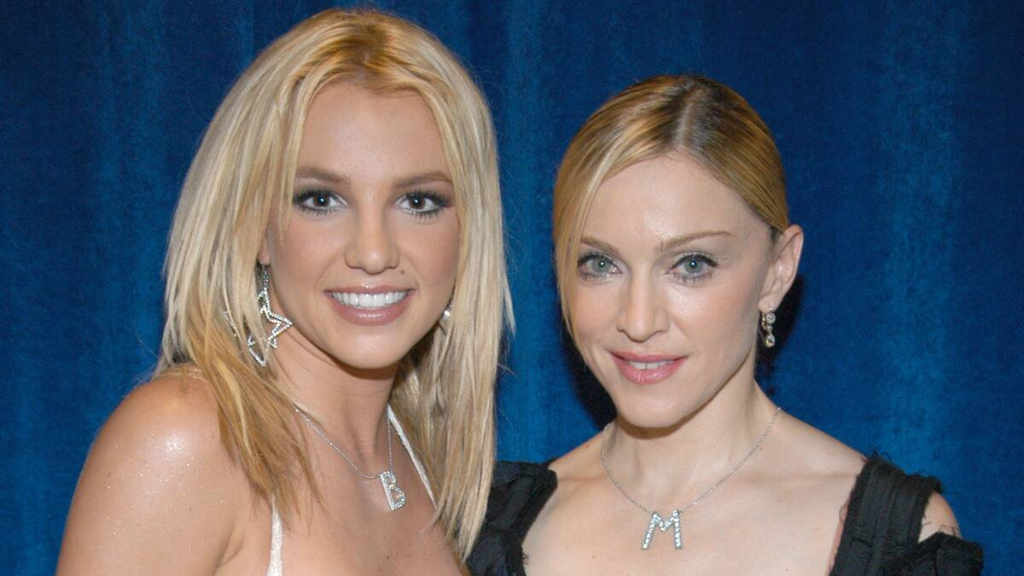 Britney Spears y Madonna-Cortesía