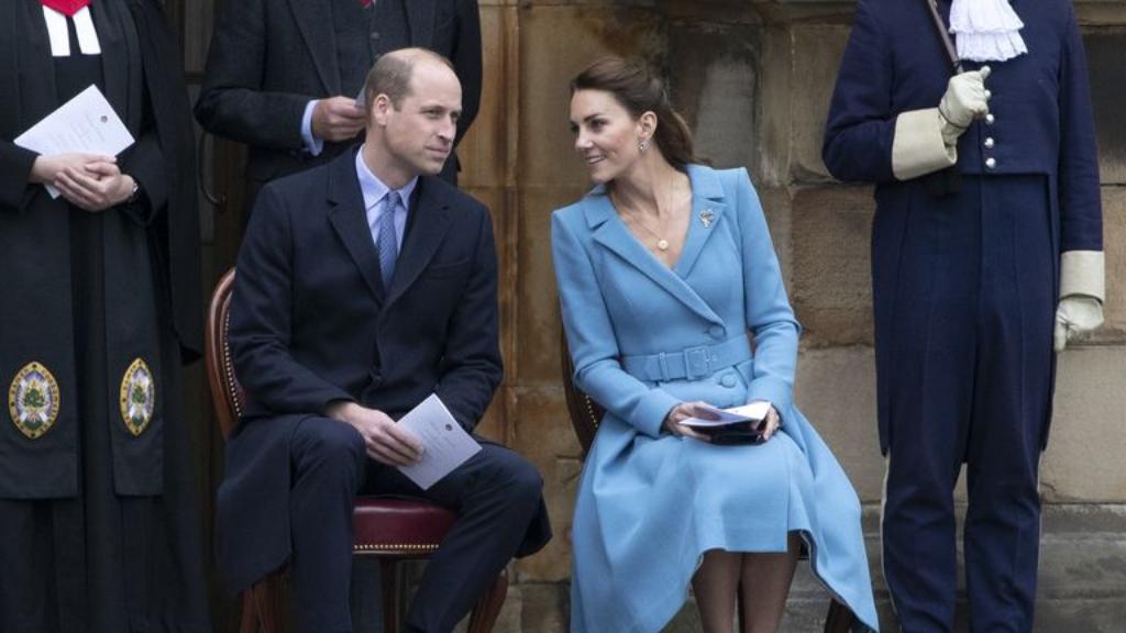 Kate Middleton y William-Cortesía